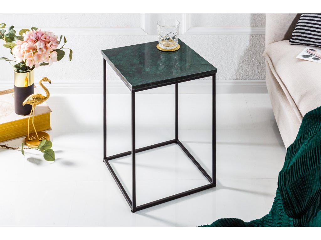 Moderní odkládací stolek - Noble,zelený