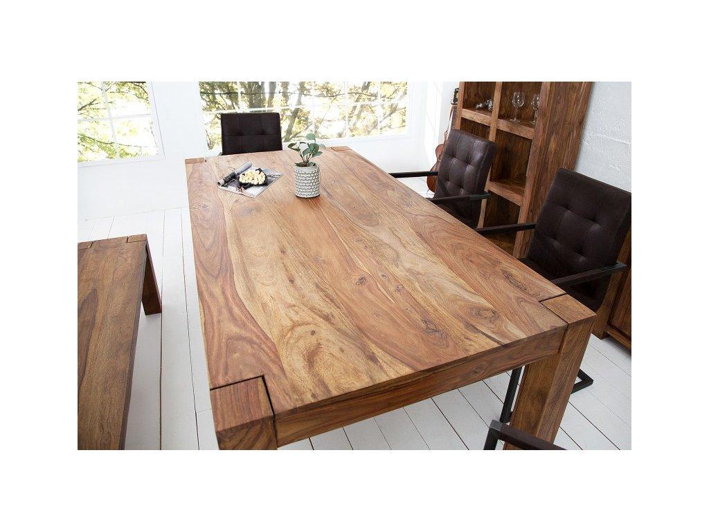 Masivní jídelní stůl - Makasar, malý