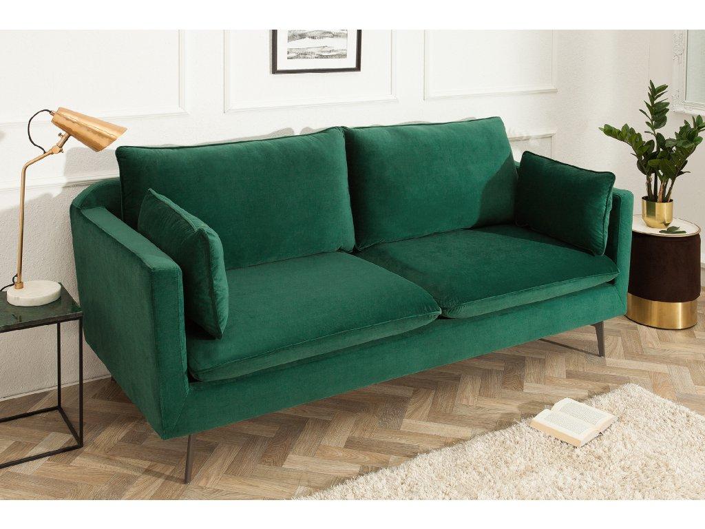 Moderní sedačka Famous - zelená