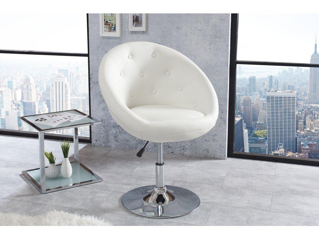 Moderní křeslo - Couture, bílé