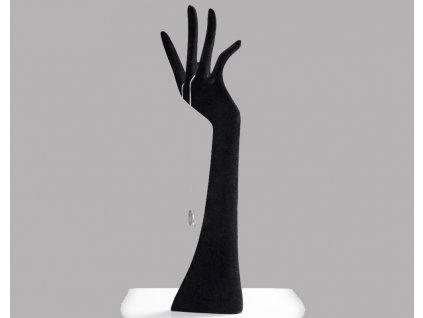 Dekorační předmět - Ruka, černá