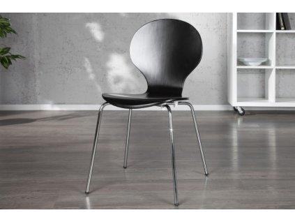 Moderní židle - Lily, černá