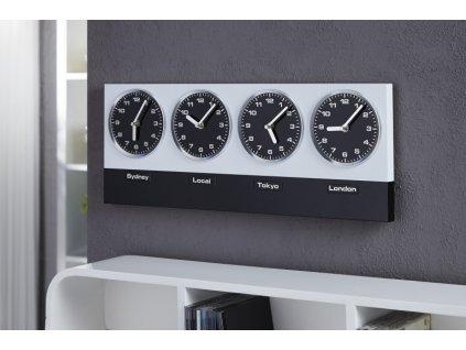 Moderní hodiny na zeď - Capital