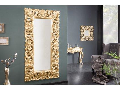Moderní nástěnné zrcadlo - Venice, zlaté, velké
