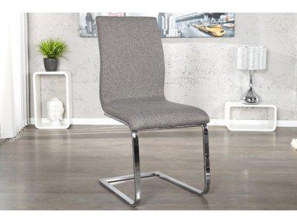 Moderní židle - Lucas, šedá