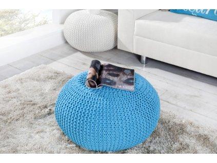 Stylový taburet - Imagine, modrý