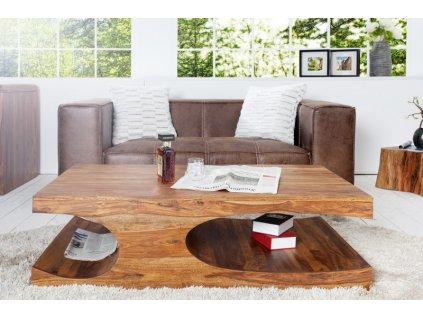 Masivní konferenční stolek - Ansel
