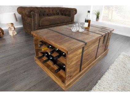 Masivní konferenční stolek - Aron