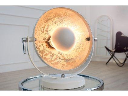 Retro stolní lampa - Rebecca, bílá