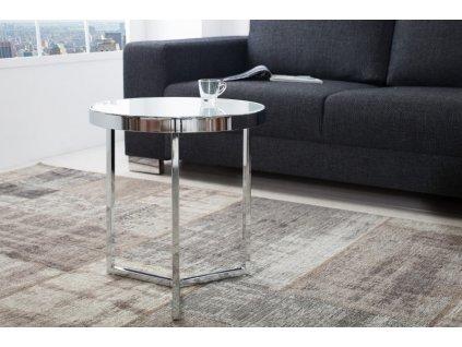 Moderní odkládací stolek - Andy,stříbrný