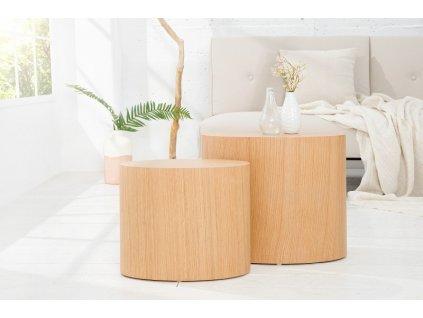 Moderní konferenční stolek - Jennifer, přírodní