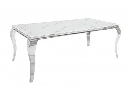 Moderní jídelní stůl - Barocco mramor, velký