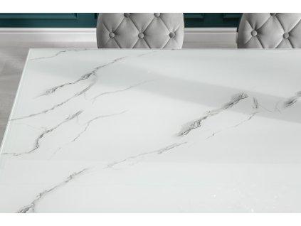 Moderní jídelní stůl - Barocco mramor, malý