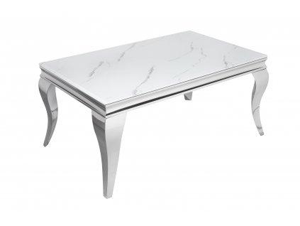 Moderní konferenční stolek Barocco, mramor