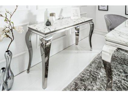 Moderní odkládací  stolek Barocco, mramor