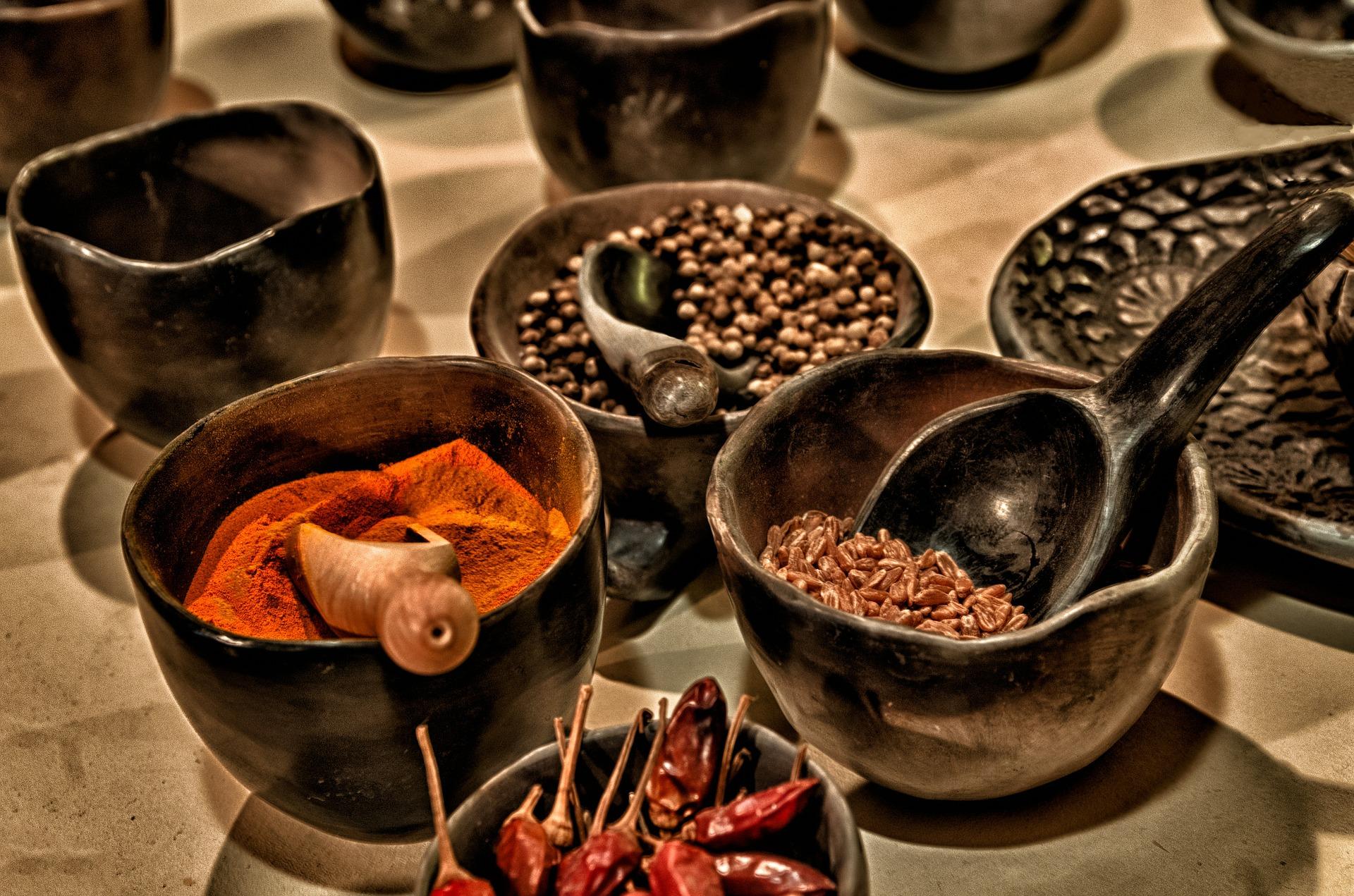 Jak používat koření a bylinky