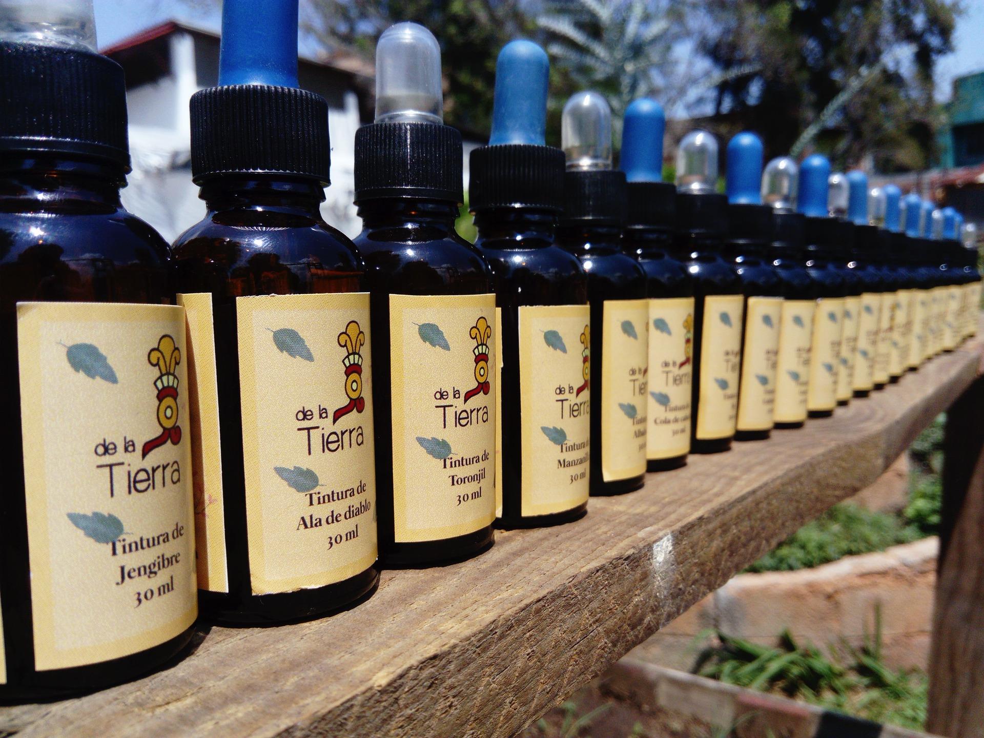 Příprava přírodních léků z léčivých bylin