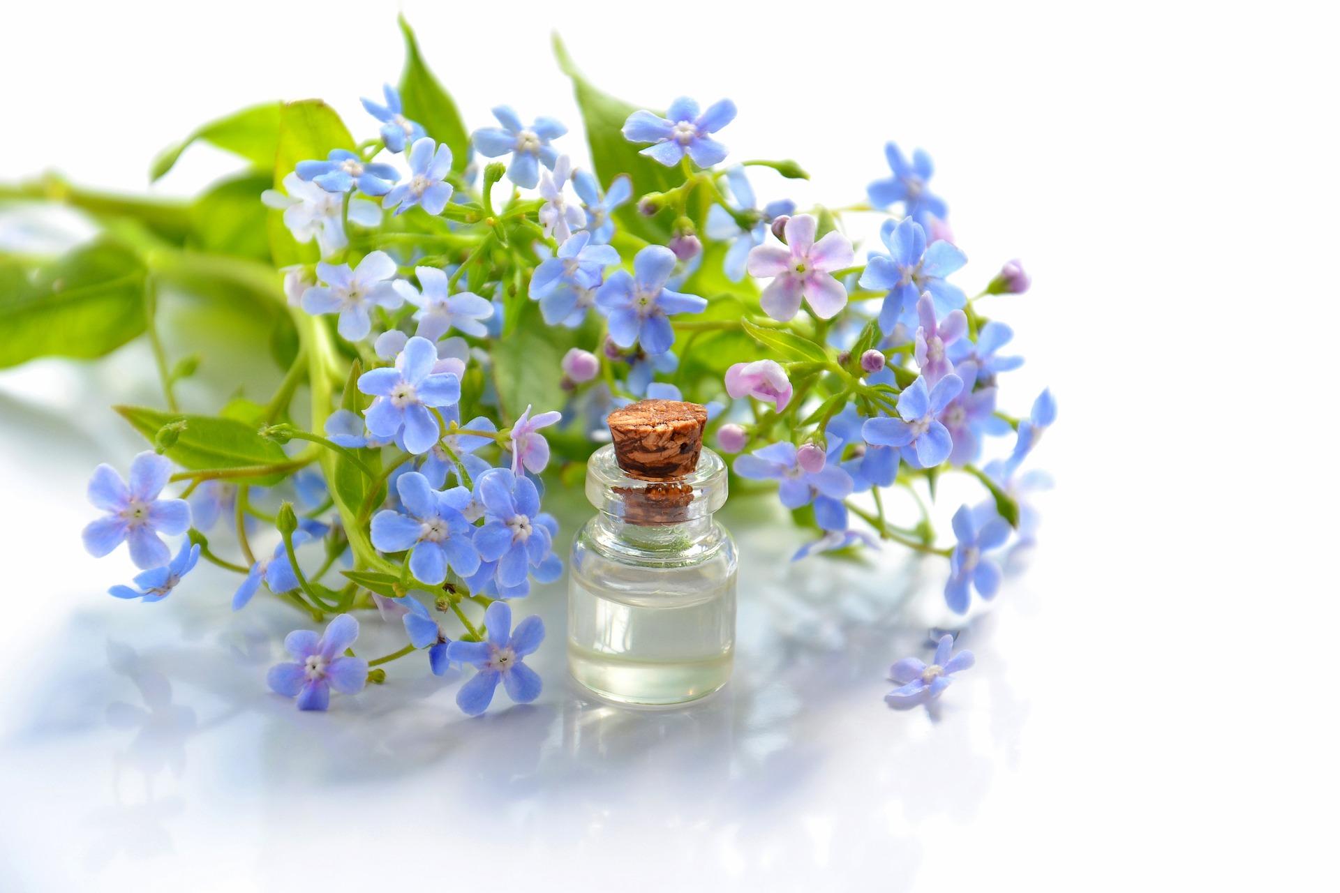 Působení esenciálních olejů při inhalaci