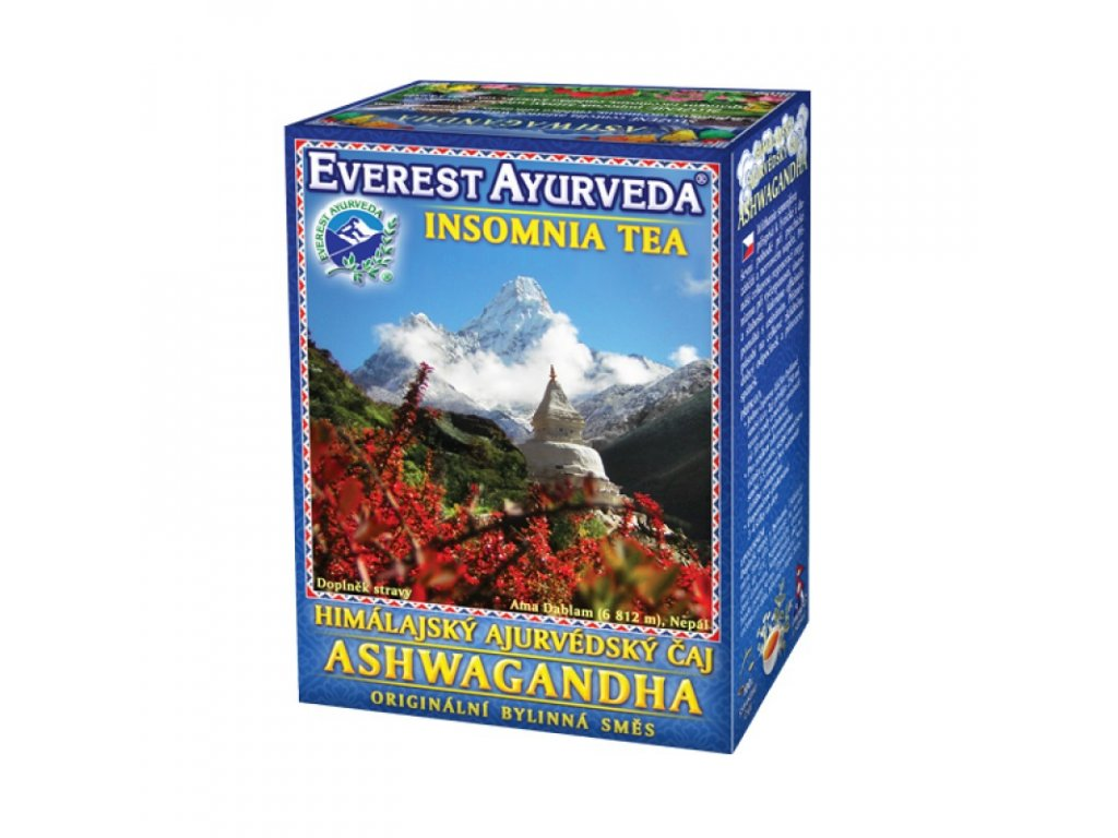 ASHWAGANDHA - Spánek a regenerace - 100g - Everest Ayurveda