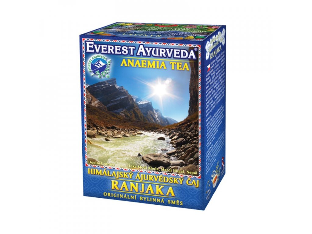 RANJAKA - Krev a snížená hladina železa - 100g - Everest Ayurveda