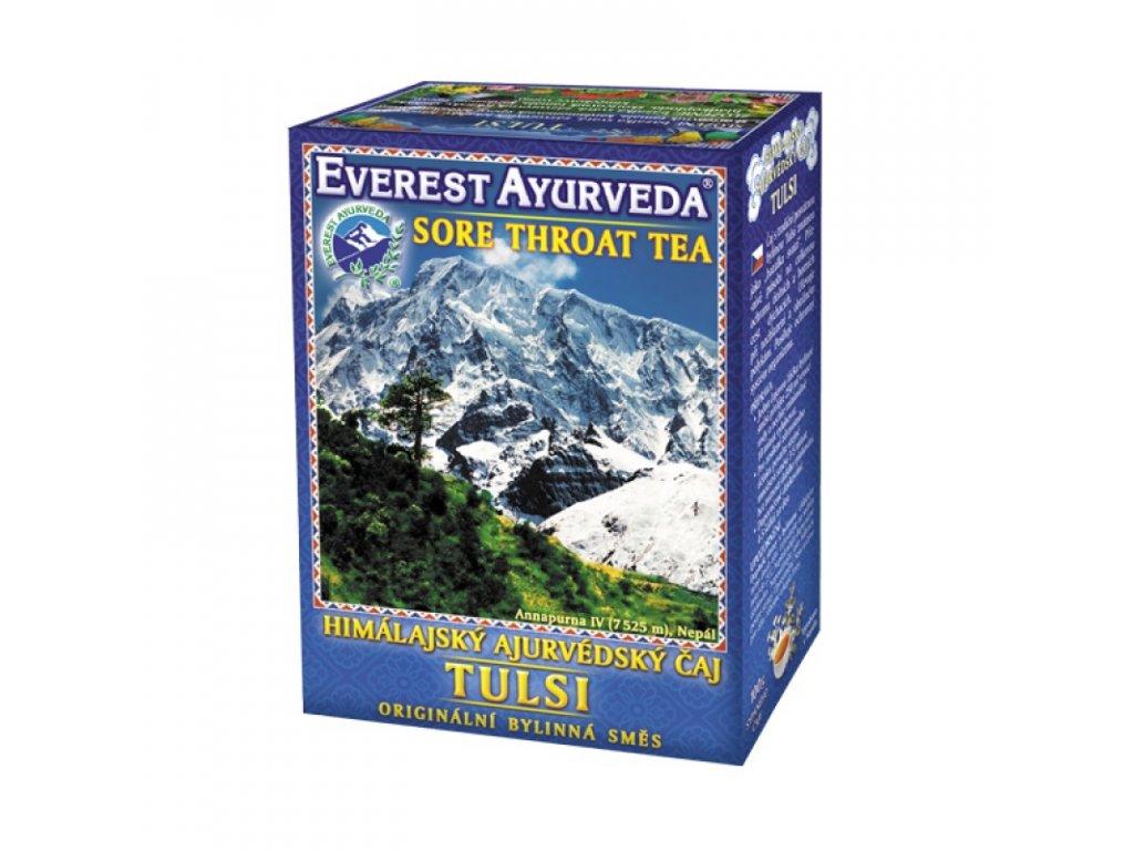 TULSI - Respirační systém a krční oblast - 100g - Everest Ayurveda