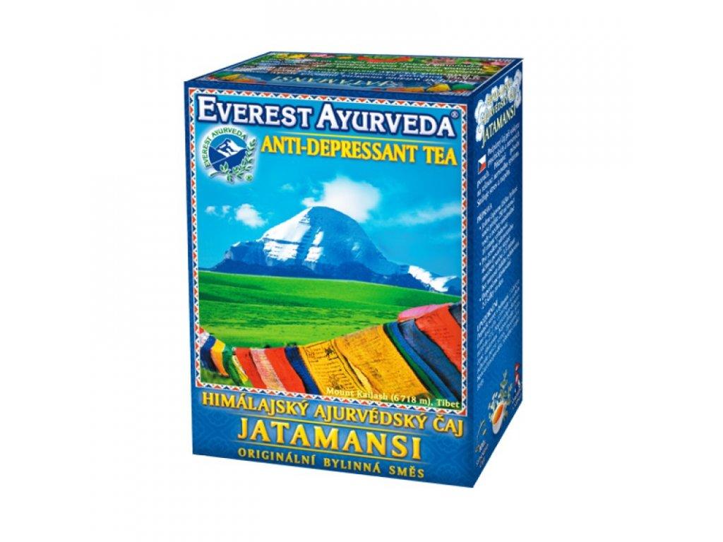 JATAMANSI - Psychická relaxace a duševní rovnováha - 100g - Everest Ayurveda