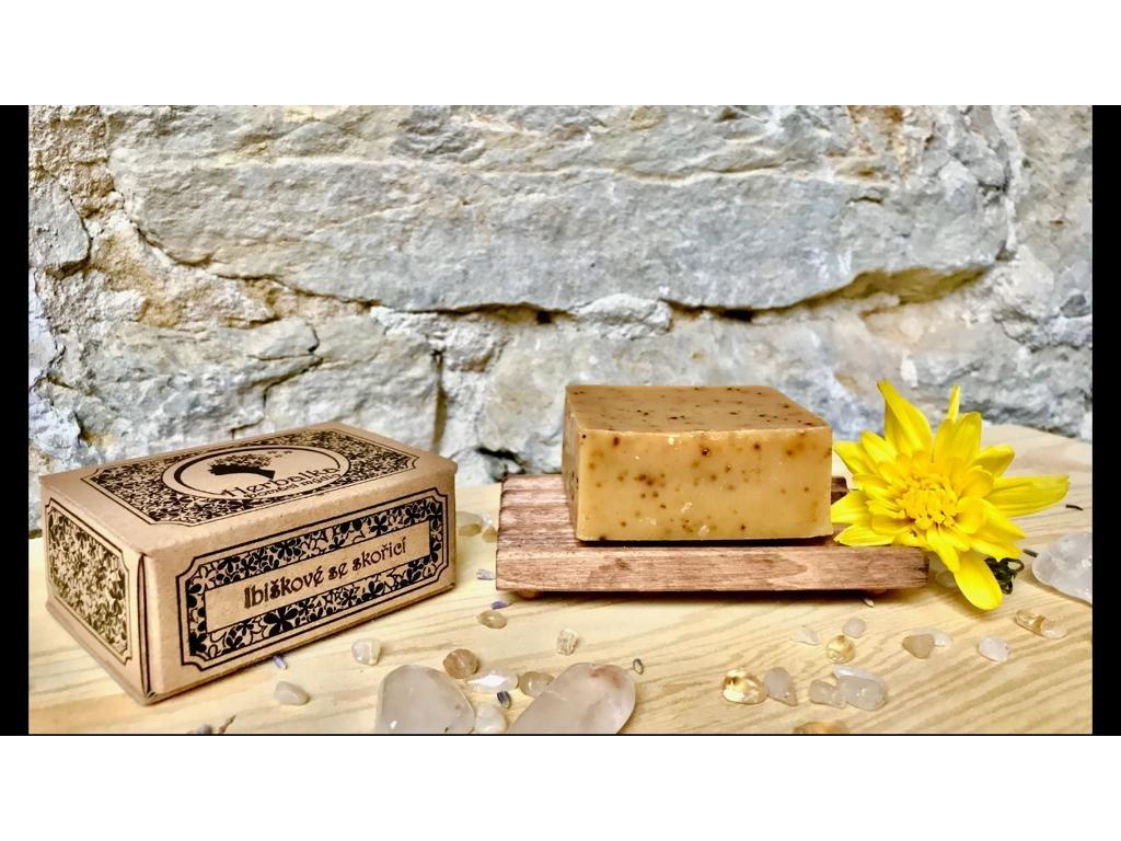 Herbalka ibiškové mýdlo se skořicí