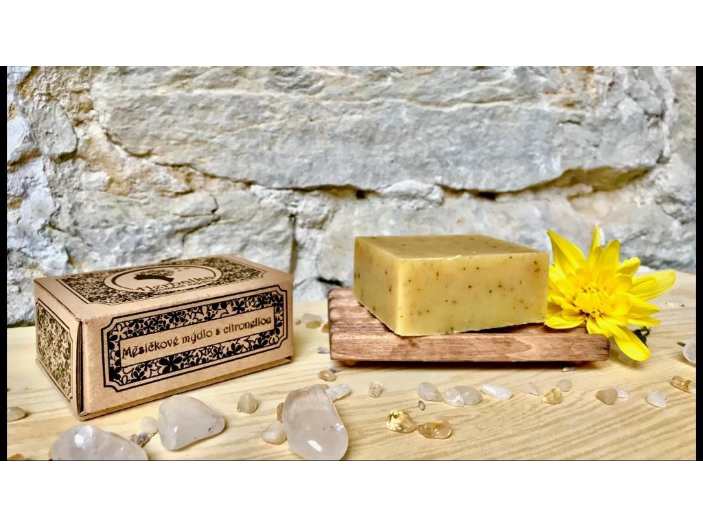 Herbalka měsíčkové mýdlo s citronellou