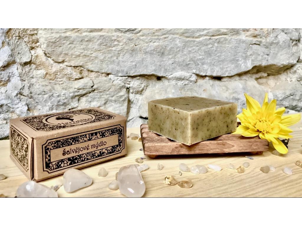 Herbalka šalvějové mýdlo