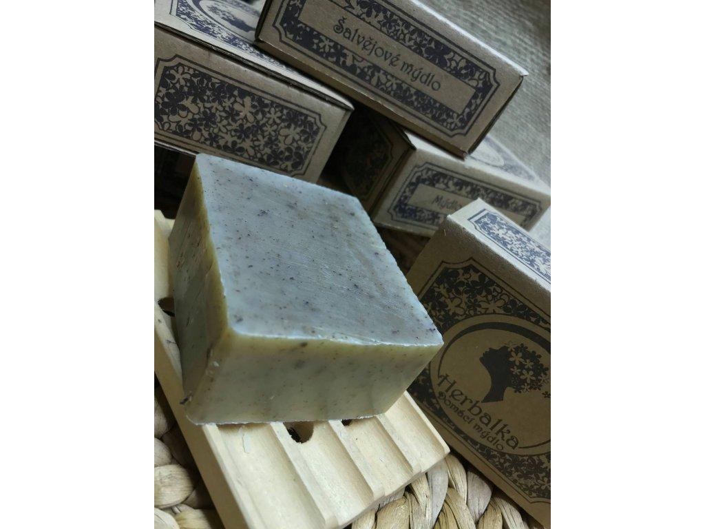 Šalvějové mýdlo 105g Herbalka CestaBylin