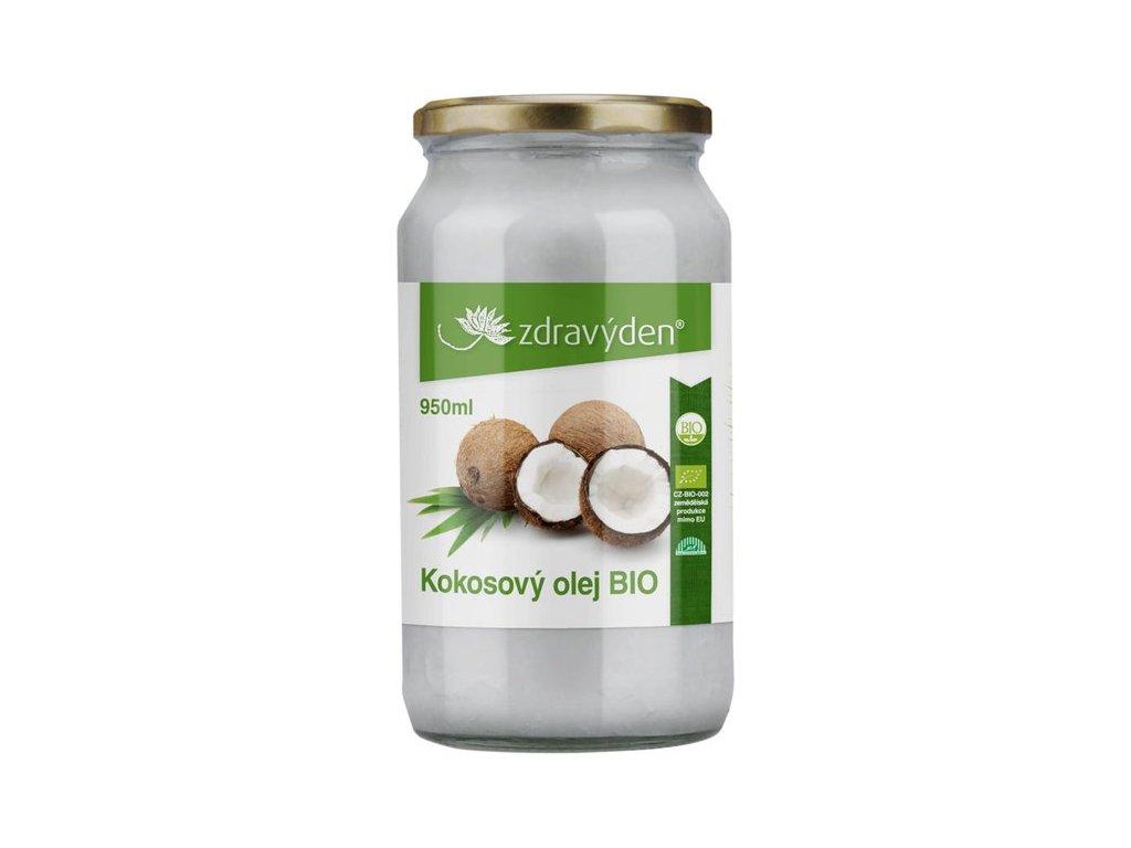 Kokosový olej BIO 950ml Zdravý den
