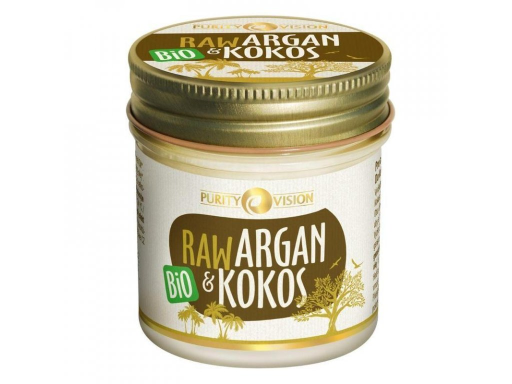 RAW Argan a Kokos BIO 120 ml Purity Vision