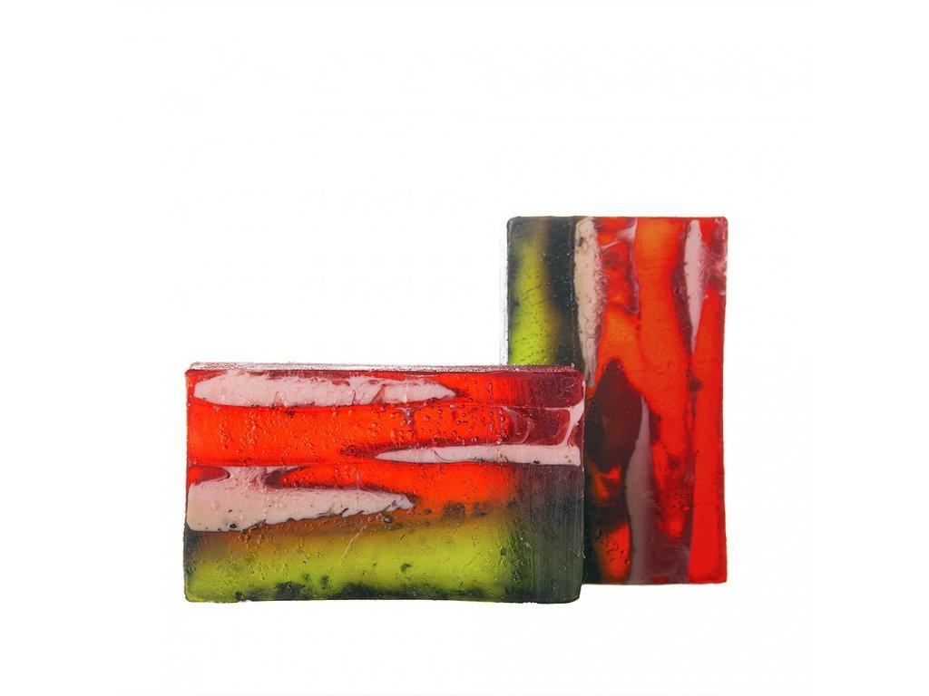 Ovocný sad přírodné tuhé mýdlo Soaphoria