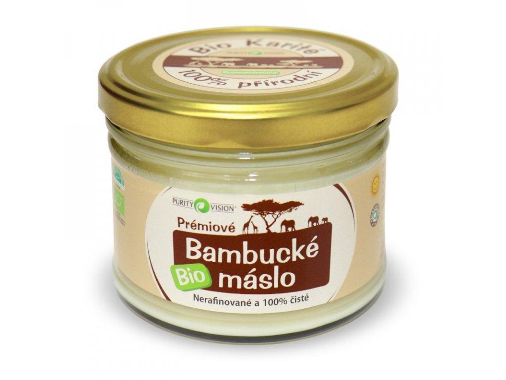 Bambucké máslo BIO - 350 ml - Purity Vision