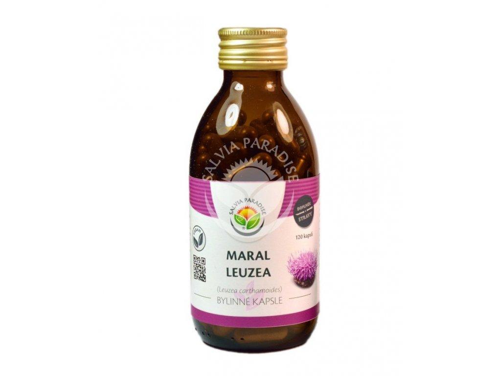 Maral Leuzea bylinné kapsle 120 ks Salvia Paradise