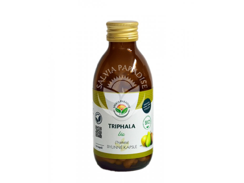 Triphala BIO bylinné kapsle 120 Ks Salvia Paradise