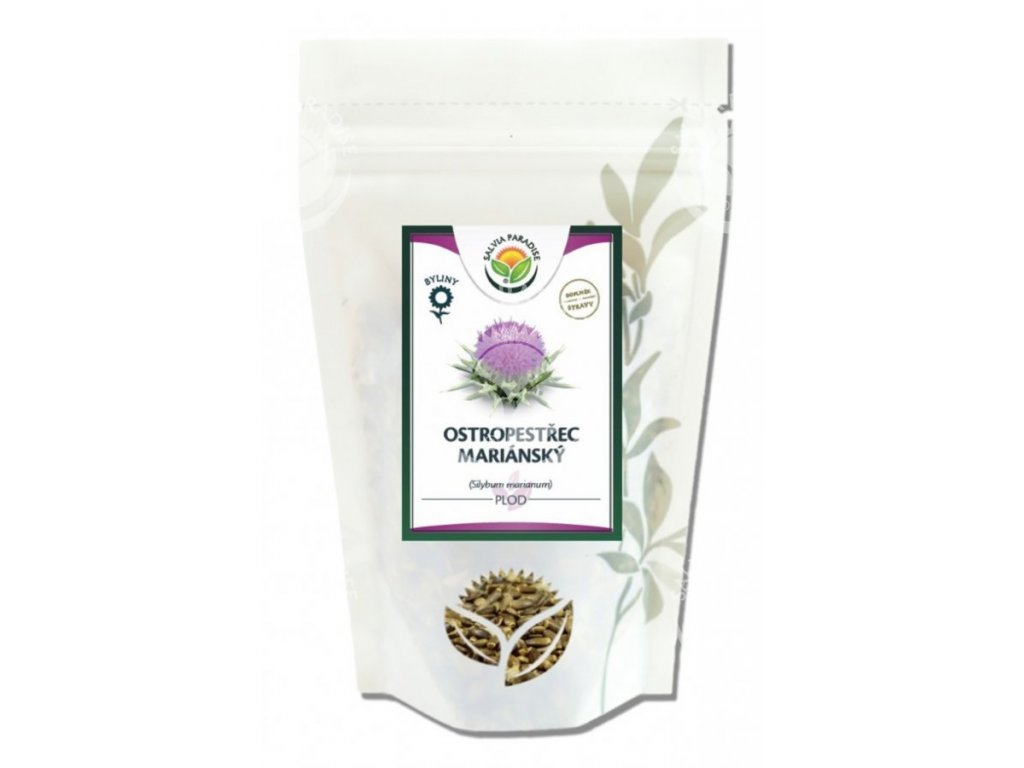 Ostropestřec mariánský celý plod 400 g Salvia Paradise