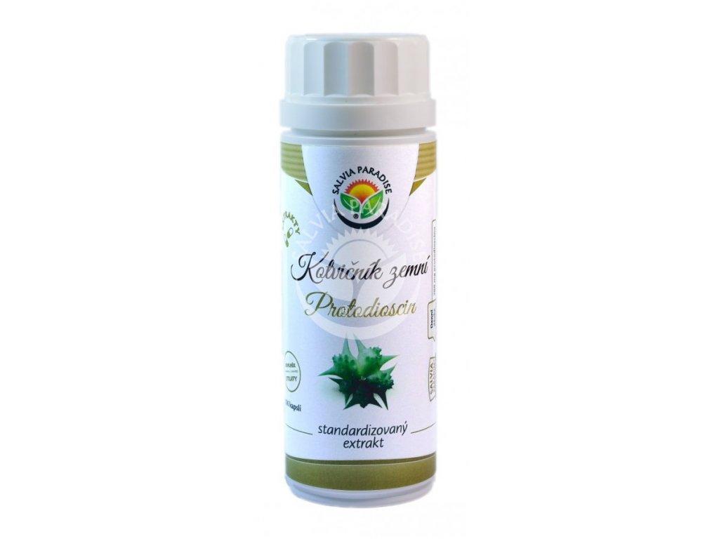 Kotvičník standardizovaný extrakt 100 ks kapslí Salvia Paradise