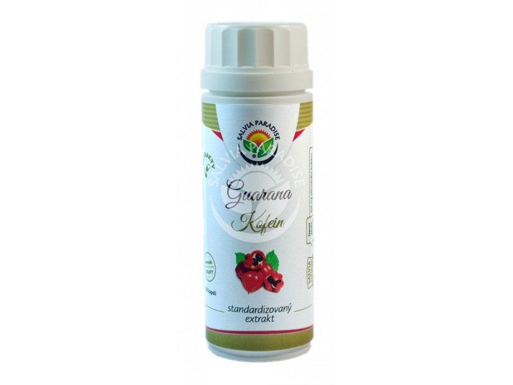 Guarana kofein standardizovaný extrakt kapsle 100 ks Salvia Paradise