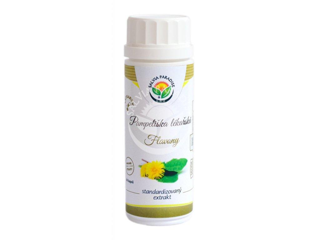 Pampeliška lékařská standardizovaný extrakt kapsle 60 ks Salvia Paradise