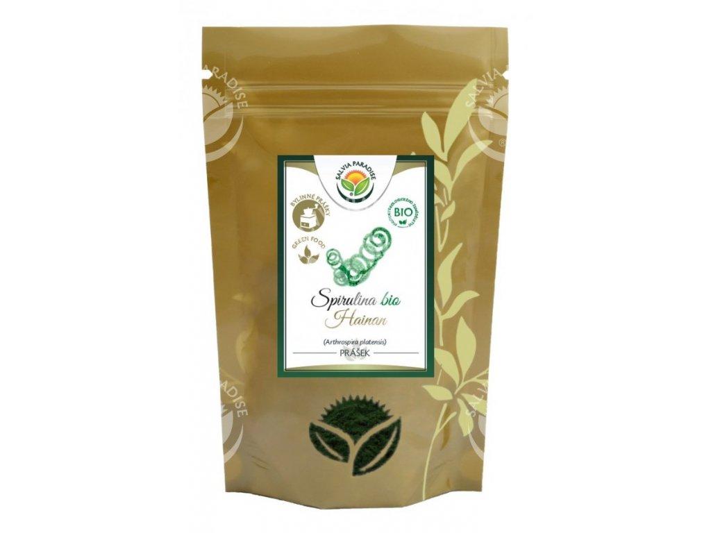Spirulina 100% prášek BIO 250 g Salvia Paradise