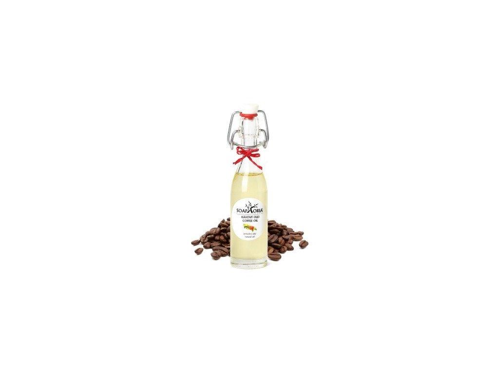 Kávový 50 ml Organický kosmetický olej Soaphoria