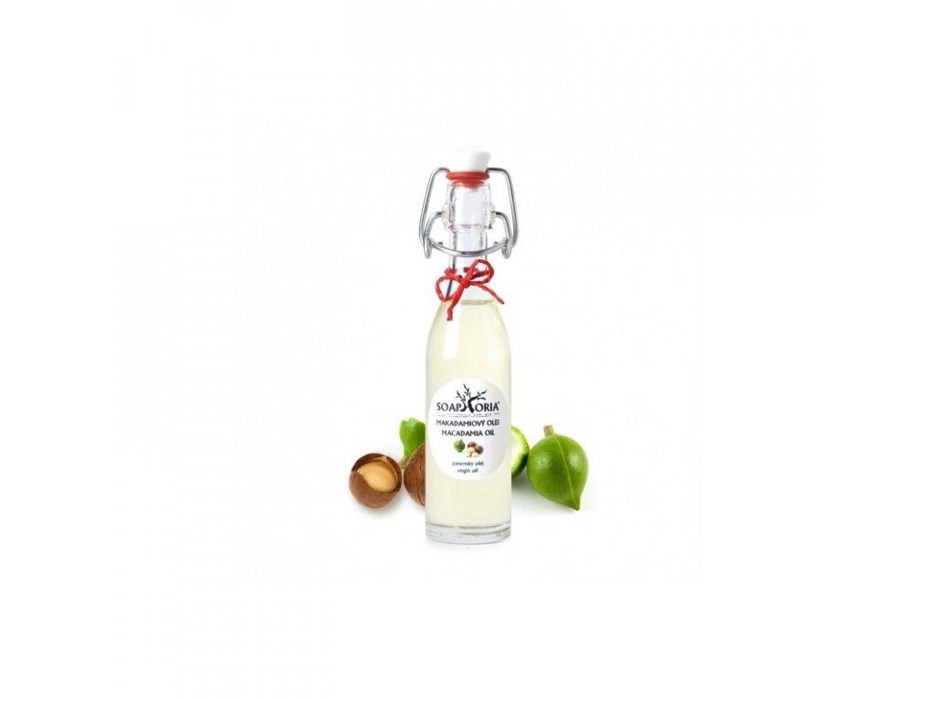 Makadamový 50ml Organický kosmetický olej Saophoria