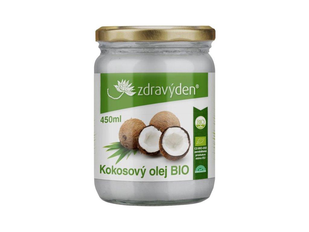 Kokosový olej BIO 450ml Zdravý den