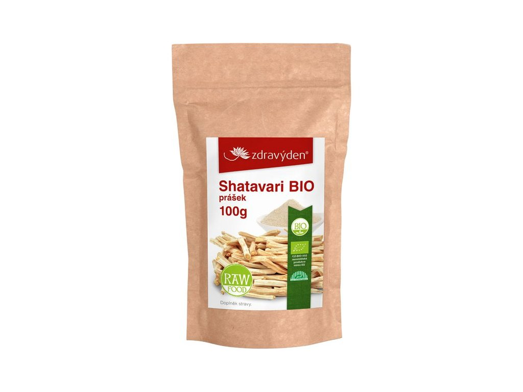 Shatavari BIO prášek 100g Zdravý den