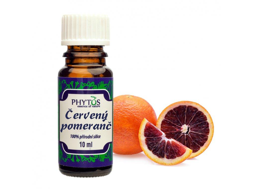 Červený pomeranč 100% esenciální olej Phytos