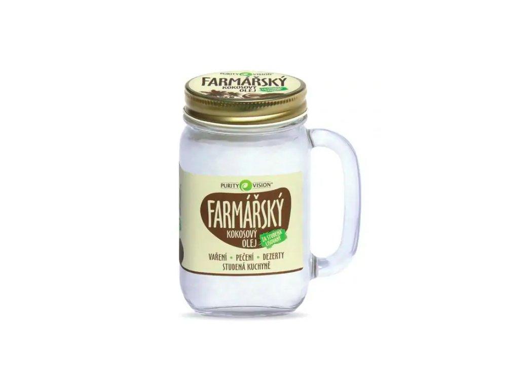 Kokosový olej farmářský Purity Vision