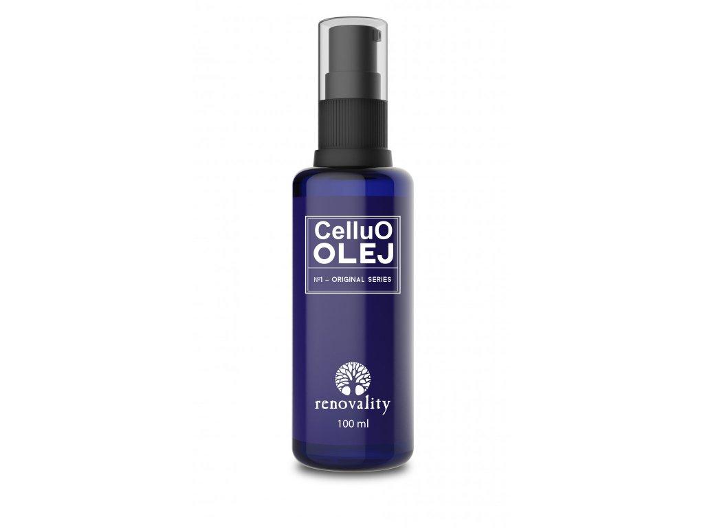 CelluO Olej 100 ml s pumpičkou Renovality
