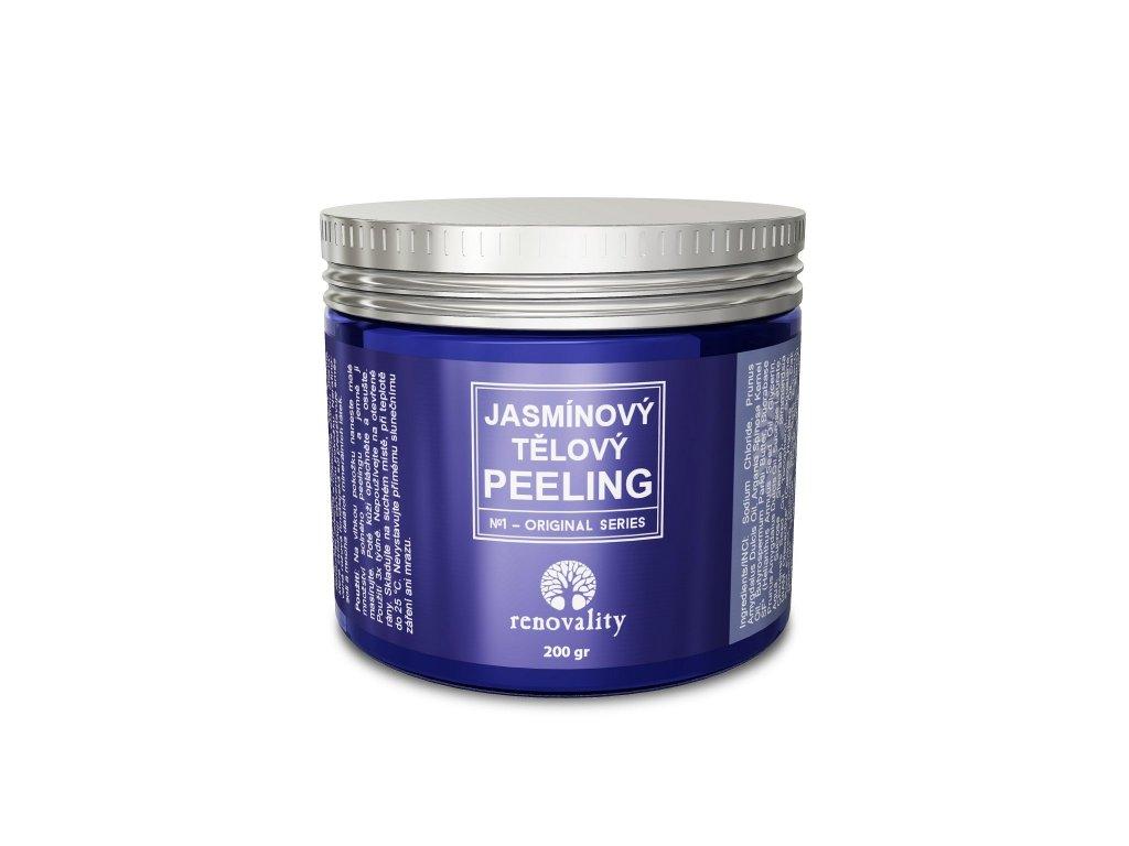 Jasmínový tělový peeling 200 gr Renovality