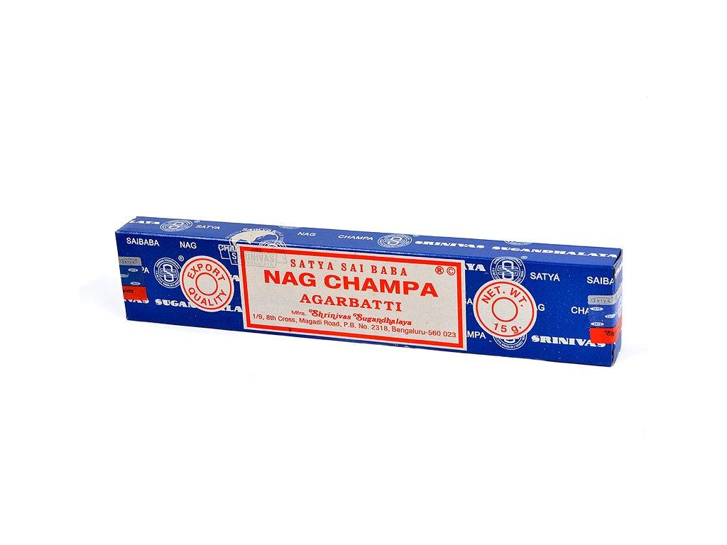 Nag Champa Satay Sai Baba vonné tyčinky 15 ks Tulasi